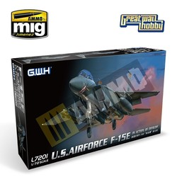 USAF F-15E In action of OEF & OIF - Scale 1/72 - Great Wall Hobby - GWH07201