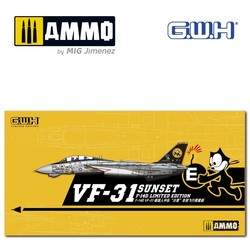 """US Navy F-14D VF-31 """"Sunset"""" Farewell Flight/w special Decal - Scale 1/72 - Great Wall Hobby - GWHS72003"""