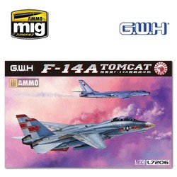 """F-14A US Navy """"Tomcat"""" - Scale 1/72 - Great Wall Hobby - GWH07206"""