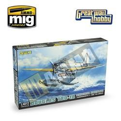 "WWII Douglas TBD-1a ""Devastator"" Floatplane - Scale 1/48 - Great Wall Hobby - GWH04812"