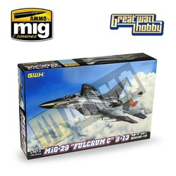 """MIG-29 9-13 """"Fulcrum C"""" - Scale 1/48 - Great Wall Hobby - GWH04813"""