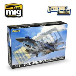 F-15C MSIP II United States Air National Guard - Scale 1/48 - Great Wall Hobby - GWH04817