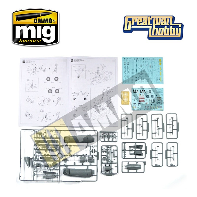 Great Wall Hobby F-15C MSIP II United States Air National Guard - Scale 1/48 - Great Wall Hobby - GWH04817