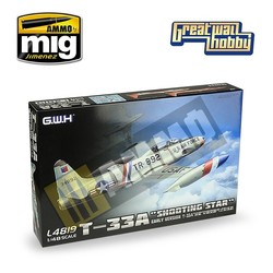 T-33A Early Version - Scale 1/48 - Great Wall Hobby - GWH04819