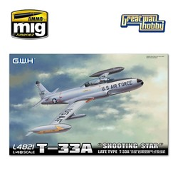 T-33A Late Version - Scale 1/48 - Great Wall Hobby - GWH04821