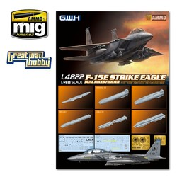 F-15E Strike Eagle Dual-Roles Fighter - Scale 1/48 - Great Wall Hobby - GWH04822