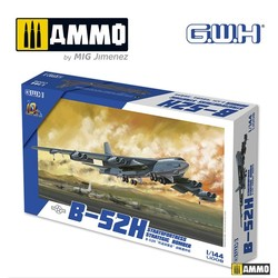 B-52H Stratofortress Strategic Bomber - Scale 1/144 - Great Wall Hobby - GWH01008
