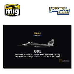 MiG-29AS Slovak Air Force 2014 Special Painting - Scale 1/48 - Great Wall Hobby - GWHS4809