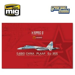 """PLAAF Su-35S """"Flanker E"""" Multirole Fighter - Scale 1/48 - Great Wall Hobby - GWHS4810"""