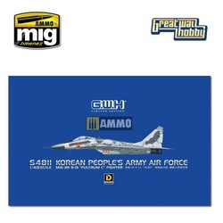 """MiG-29 9-13 """"Fulcrum C"""" Korean People's Army Air Force - Scale 1/48 - Great Wall Hobby - GWHS4811"""