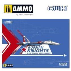 """Su-35S Flanker E """"Russian Knights"""" /w special Mask & Decal - Scale 1/48 - Great Wall Hobby - GWHS4812"""