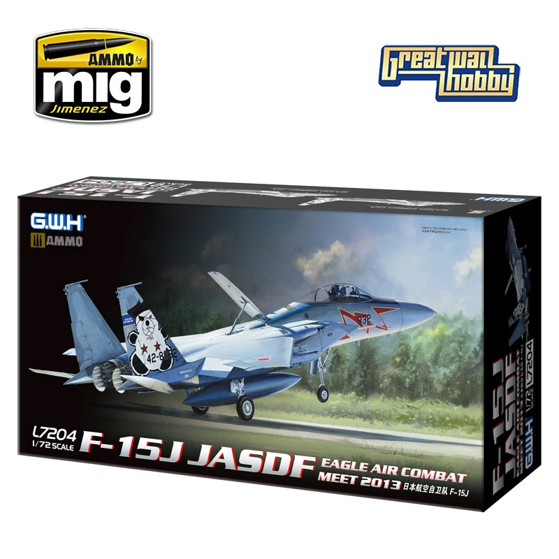 Great Wall Hobby F-15J JASDF - Scale 1/72 - Great Wall Hobby - GWH07204