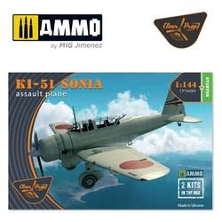 Ki-51 Sonia (2 in box) - Scale 1/144 - Clear Prop - CP144001