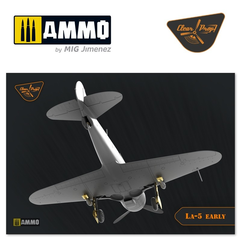 Clear Prop La-5 early version - Scale 1/72 - Clear Prop - CP72014