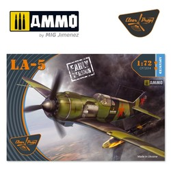 La-5 early version - Scale 1/72 - Clear Prop - CP72014