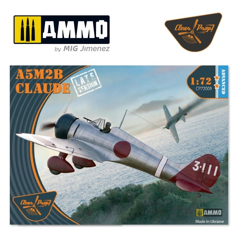 Clear Prop A5M2b Claude late version - Scale 1/72 - Clear Prop - CP72009