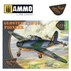 Gloster E28/39 Pioneer - Scale 1/72 - Clear Prop - CP72007