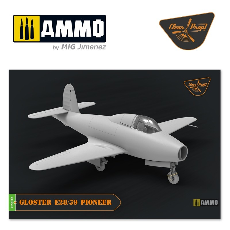 Clear Prop Gloster E28/39 Pioneer - Scale 1/72 - Clear Prop - CP72007