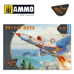 Tu-143 Reys - Scale 1/72 - Clear Prop - CP72004