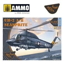 UH-2A/B Seasprite - Scale 1/72 - Clear Prop - CP72002