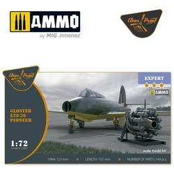 Gloster E28/39 Pioneer - Scale 1/72 - Clear Prop - CP72001