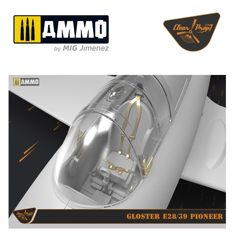Clear Prop Gloster E28/39 Pioneer - Scale 1/72 - Clear Prop - CP72001