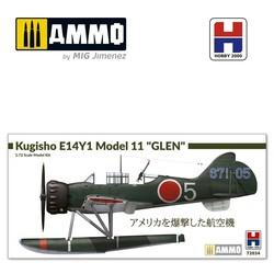 """Kugisho E14Y1 Model 11 """"Glen"""" w/catapult - Scale 1/72 - Hobby 2000 - H2K72034"""
