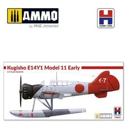 Kugisho E14Y1 Model 11 Early w/catapult - Scale 1/72 - Hobby 2000 - H2K72033