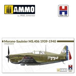 Morane-Saulnier MS.406 1939-40 - Scale 1/72 - Hobby 2000 - H2K72031