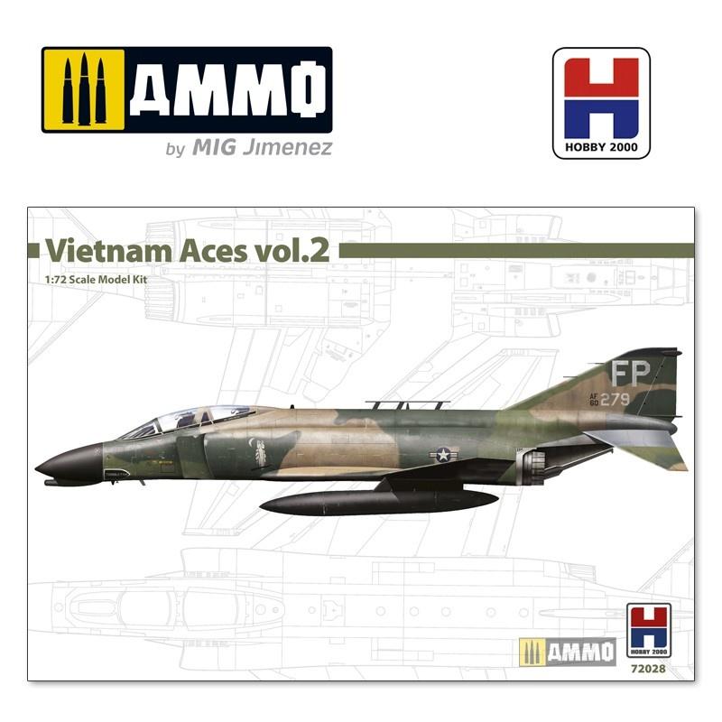 Hobby 2000 F-4D Phantom II - Vietnam Aces 2 - Scale 1/72 - Hobby 2000 - H2K72028