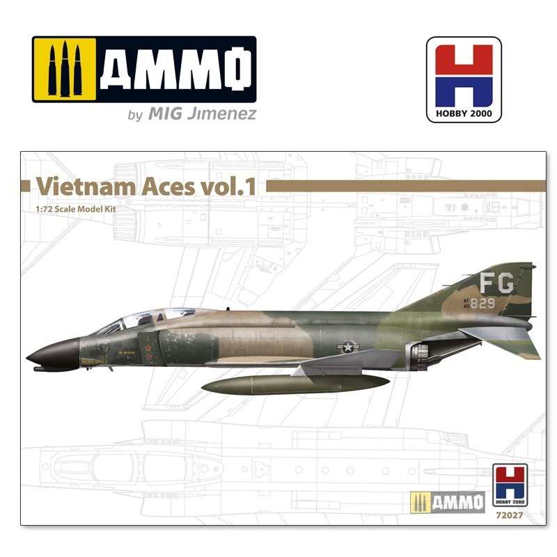 Hobby 2000 F-4C Phantom II - Vietnam Aces 1 - Scale 1/72 - Hobby 2000 - H2K72027