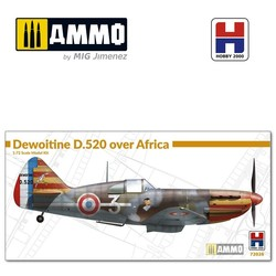 Dewoitine D.520 over Africa - Scale 1/72 - Hobby 2000 - H2K72026