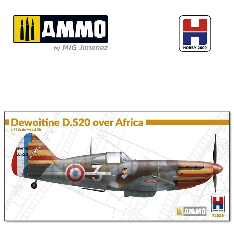 Hobby 2000 Dewoitine D.520 over Africa - Scale 1/72 - Hobby 2000 - H2K72026