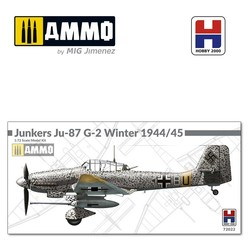 Junkers Ju-87 G-2 Winter 1944/1945 - Scale 1/72 - Hobby 2000 - H2K72022