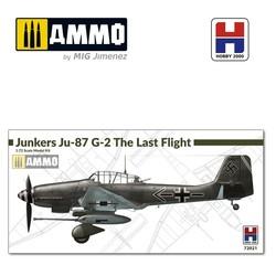 Junkers Ju-87 G-2 The Last Flight - Scale 1/72 - Hobby 2000 - H2K72021