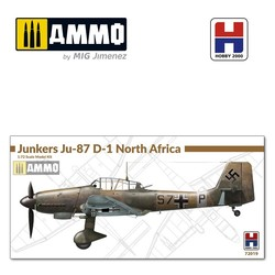 Junkers Ju-87 D-1 North Africa - Scale 1/72 - Hobby 2000 - H2K72019