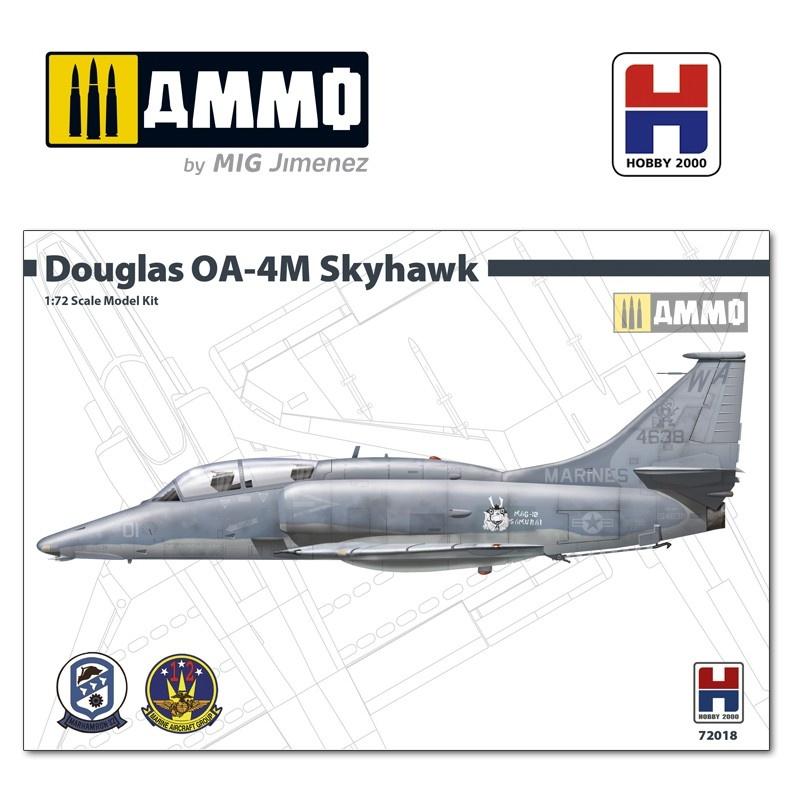 Hobby 2000 Douglas OA-4M Skyhawk - Samurai - Scale 1/72 - Hobby 2000 - H2K72018