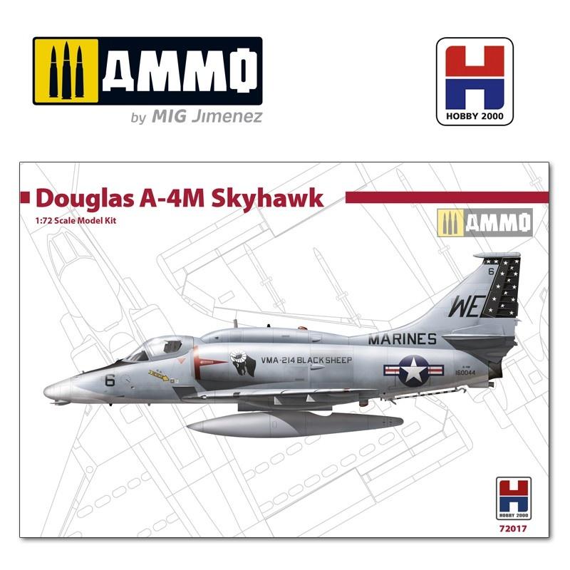Hobby 2000 Douglas A-4M Skyhawk - Black Sheep - Scale 1/72 - Hobby 2000 - H2K72017