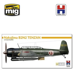 Nakajima B6N2 Model 12 Tenzan - Scale 1/72 - Hobby 2000 - H2K72016