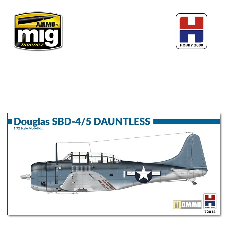 Hobby 2000 Douglas SBD-4/5 Dauntless - Scale 1/72 - Hobby 2000 - H2K72014
