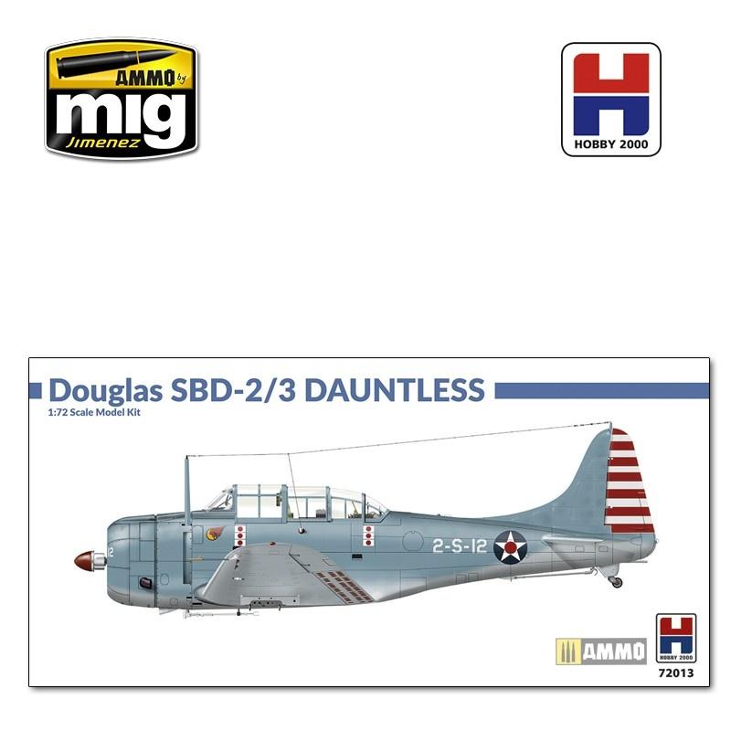 Hobby 2000 Douglas SBD-2/3 Dauntless - Scale 1/72 - Hobby 2000 - H2K72013