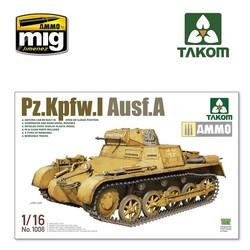 Pz.Kpfw.I Ausf.A - Scale 1/16 - Takom -TAKO1008