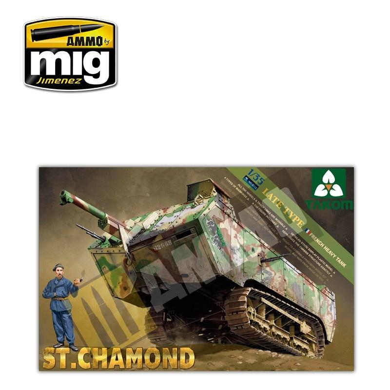 Takom French HeavyTank St.Chamond Late Type - Scale 1/35 - Takom -TAKO2012