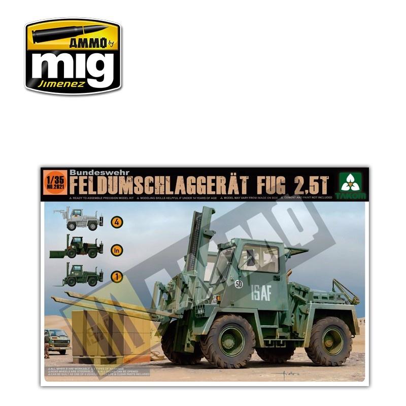 Takom Bundeswehr Feldumschlaggerät FUG 2,5 - Scale 1/35 - Takom -TAKO2021