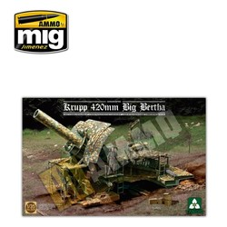 German Empire 420mm Big Bertha Siege Howitzer - Scale 1/35 - Takom -TAKO2035