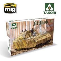 WWII German Super Heavy Tank Maus V1 - Scale 1/35 - Takom -TAKO2049