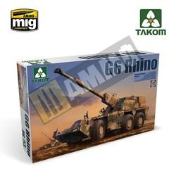 SANDF Self-Propelled Howitzer G6 Rhino - Scale 1/35 - Takom -TAKO2052