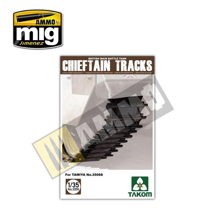 Takom British Main Battle Tank Chieftain Tracks - Scale 1/35 - Takom -TAKO2059