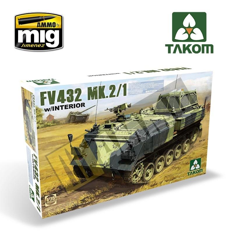 Takom British APC FV432 Mk.2/1 - Scale 1/35 - Takom -TAKO2066
