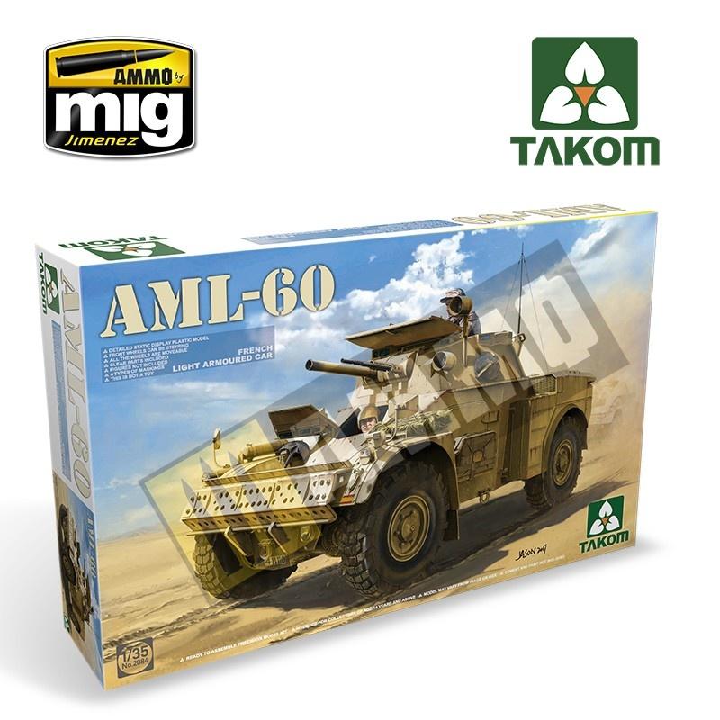 Takom French Light Armoured Car AML-60 - Scale 1/35 - Takom -TAKO2084